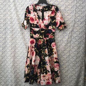 Unique Vintage pinup circle dress size M 🌺